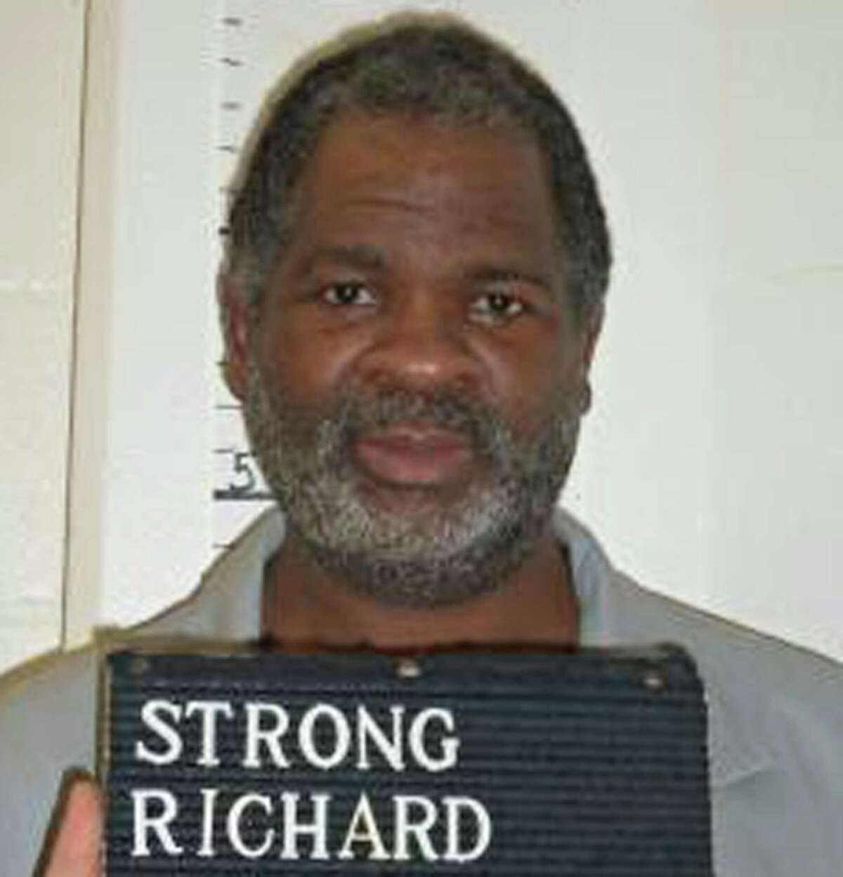 This Feb. 9, 2014 photo provided by the Missouri Department of Corrections shows Missouri death row inmate Richard Strong. Strong was convicted of fatally stabbing his girlfriend and her 2-year-old daughter 15 years ago in suburban St. Louis.