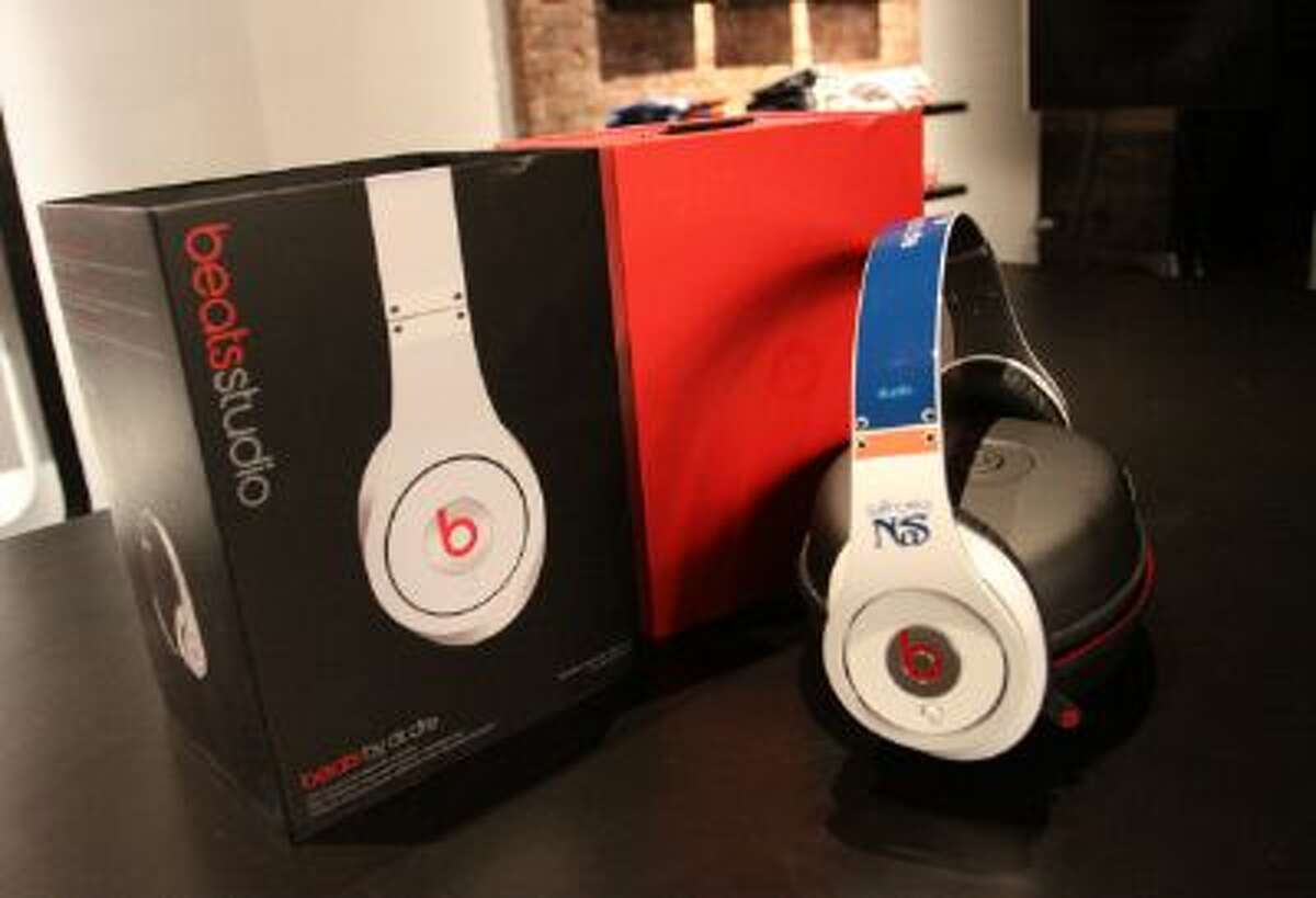 A view of Nas' Beats By Dr. Dre headphones at the Beats By Dr. Dre Store.