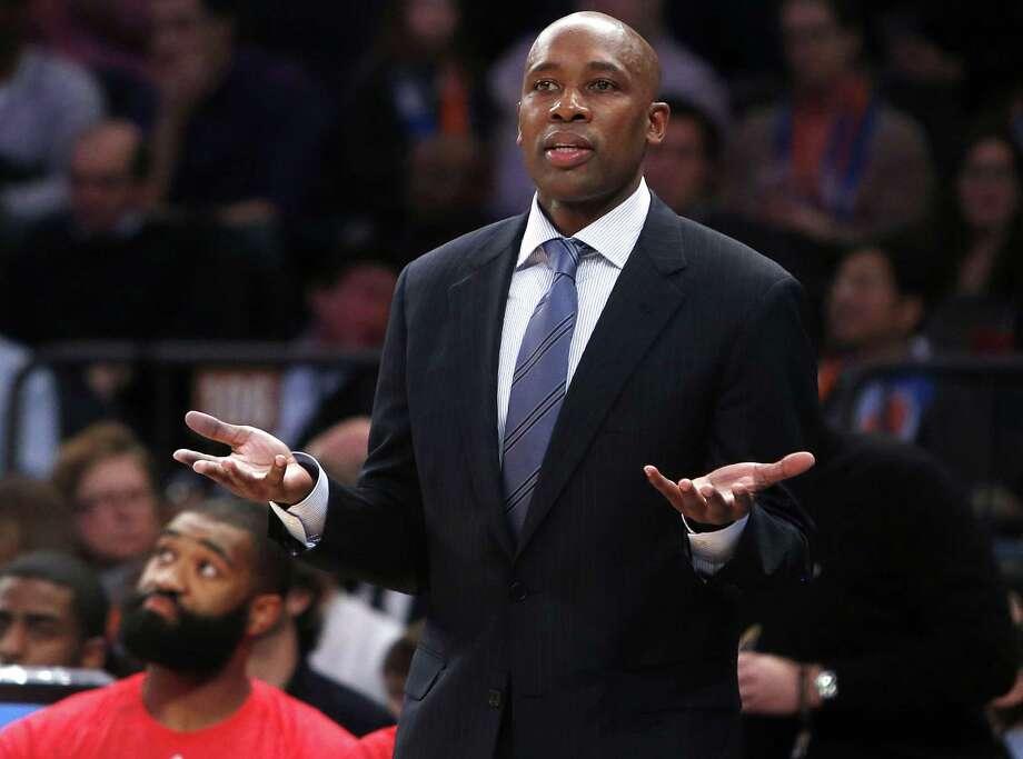 The Orlando Magic fired coach Jacque Vaughn on Thursday. Photo: Jason DeCrow — The Associated Press  / FR103966 AP
