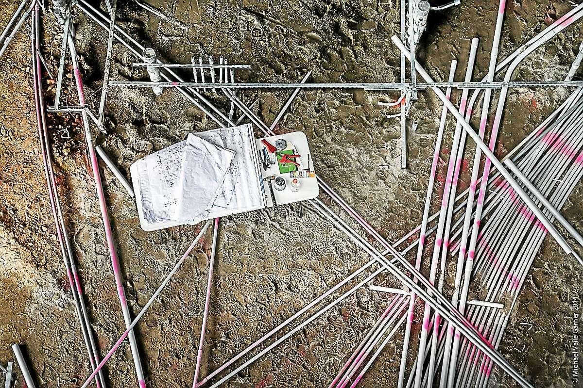 "Middletown artist Michael Vaile Garner's ""Field Set."""