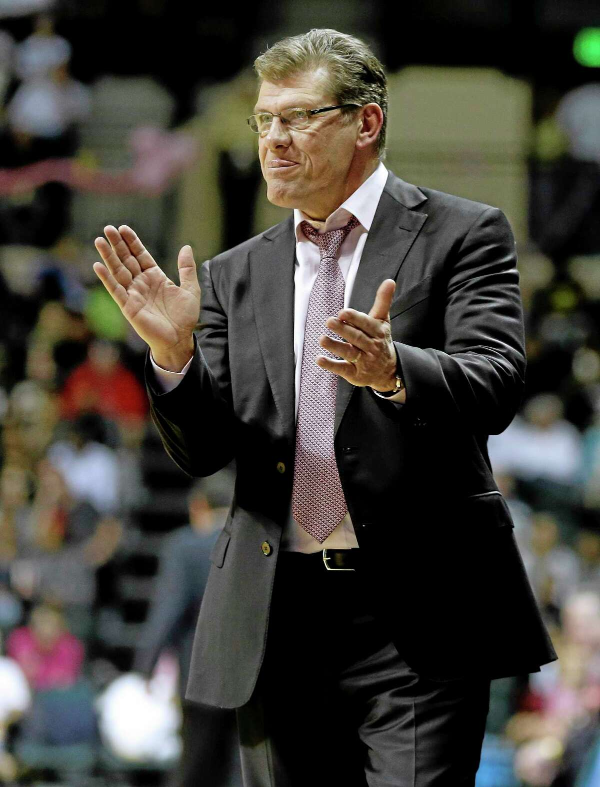 Geno Auriemma will be coaching his 1,000th game at UConn Saturday evening at Houston.