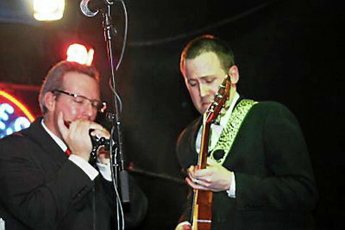 Submitted photo Ryan Hartt & the Blue Hearts perfom at Canton Fireman's Blues & Brew Festival on Saturday.