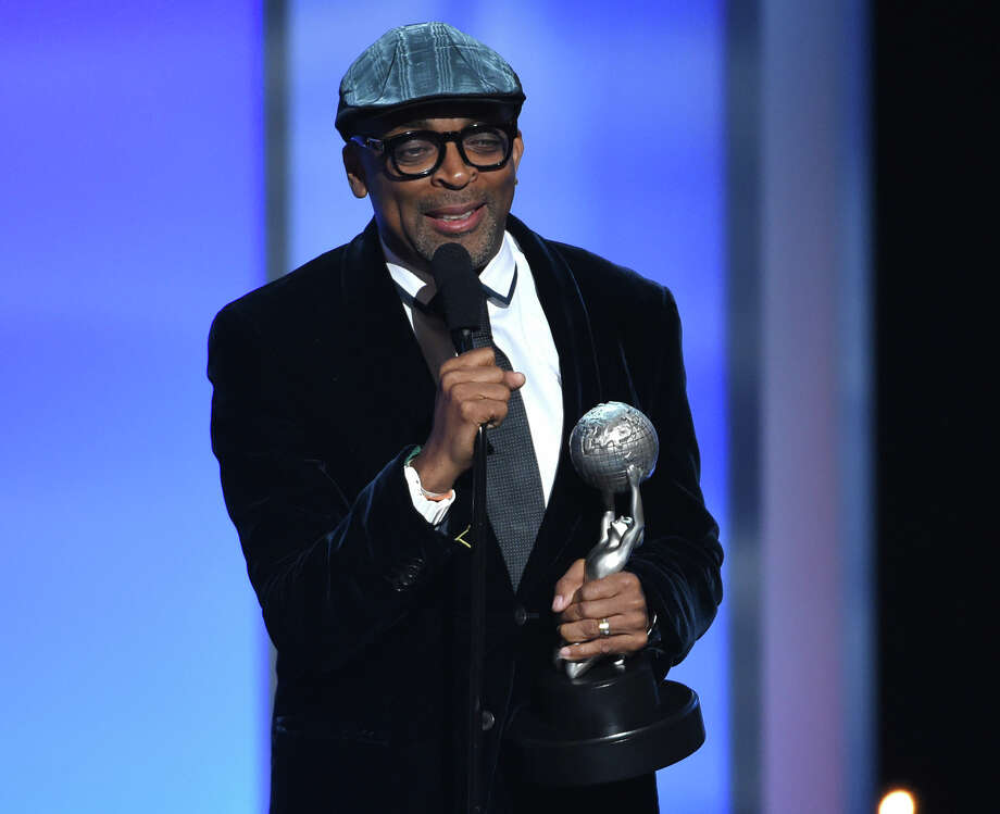 In this Feb. 6, 2015 photo, Spike Lee accepts the President's Award on stage at the 46th NAACP Image Awards at the Pasadena Civic Auditorium in Pasadena, Calif. Filmmaker, teacher, honorary Oscar winner, and crazy New York sports fan Lee is the next grand marshal of the New York City Marathon, race officials announced Monday, Oct. 5, 2015. Photo: Photo By Chris Pizzello/Invision/AP, File  / Invision