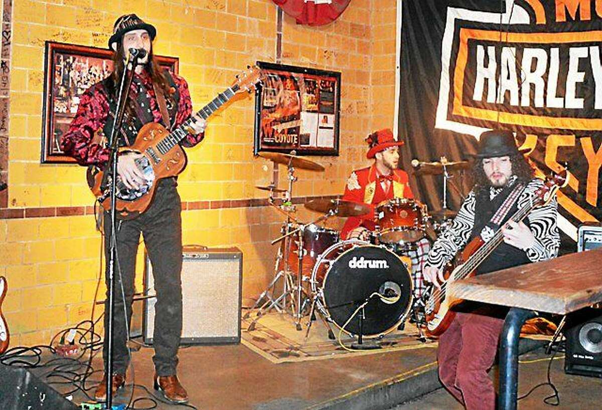 Photo by Dom Forcella The Balkun Brothers Band, who lit up Beale Street at the International Blues Challenge, will be at The Main Pub on Friday.
