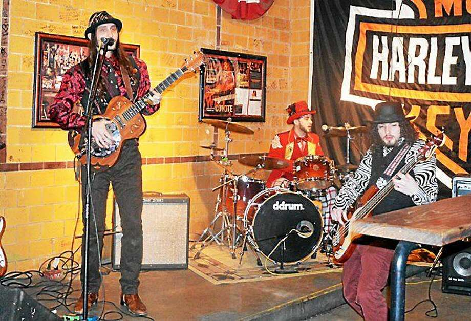 Photo by Dom Forcella The Balkun Brothers Band, who lit up Beale Street at the International Blues Challenge, will be at The Main Pub on Friday. Photo: Journal Register Co.