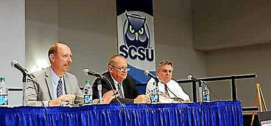 Scott McLean, Gary Rose, and Art Paulson. Photo: Christine Stuart/CTNewsJunkie.com