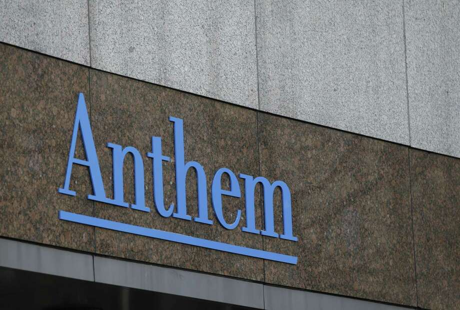 The Anthem logo at the company's corporate headquarters in Indianapolis. Photo: AP Photo/Darron Cummings, File  / AP