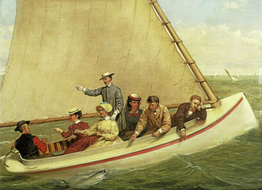 Contributed photo The Coast & the Sea: Marine and Maritime Art in America is on view through July 12 at the Mattatuck Museum in Waterbury. Photo: Journal Register Co. / New-York Historical Society