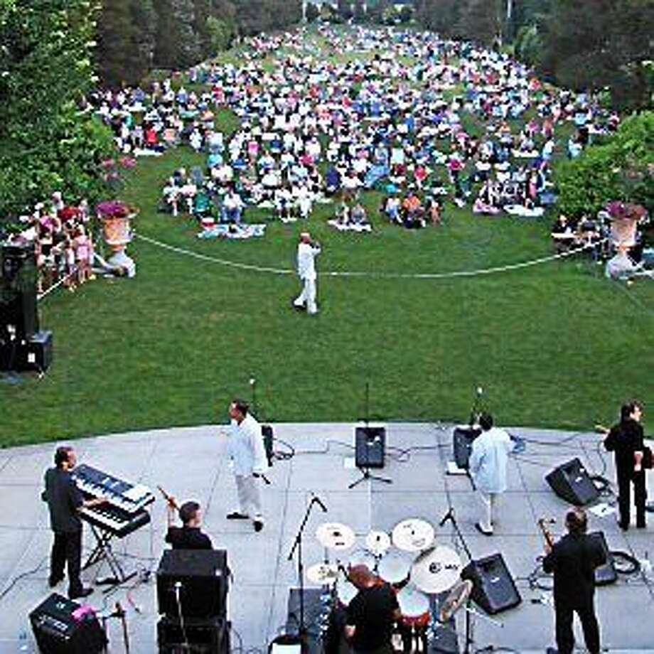 """Contributed photo Above, guests enjoy a live concert at the Wadsworth Mansion in Middletown. """"Music at the Mansion"""" summer concert series returns this summer. Photo: Journal Register Co."""