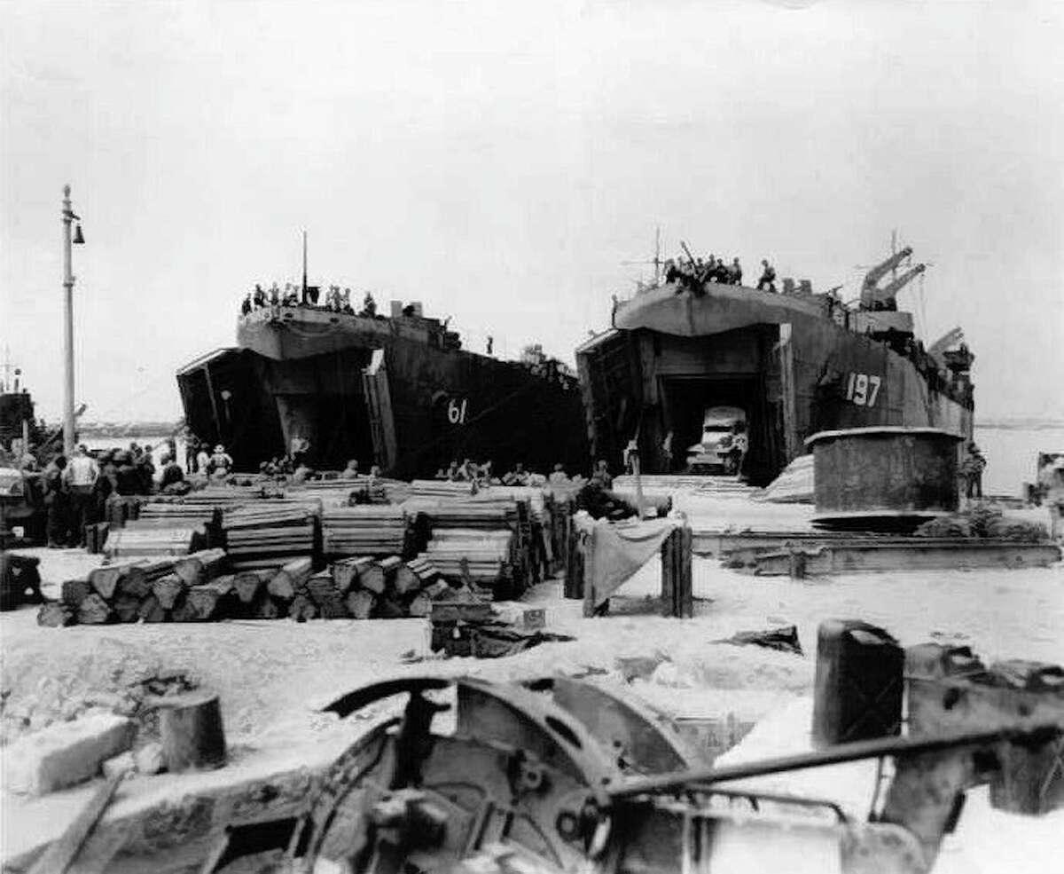 File photo USS LST-197