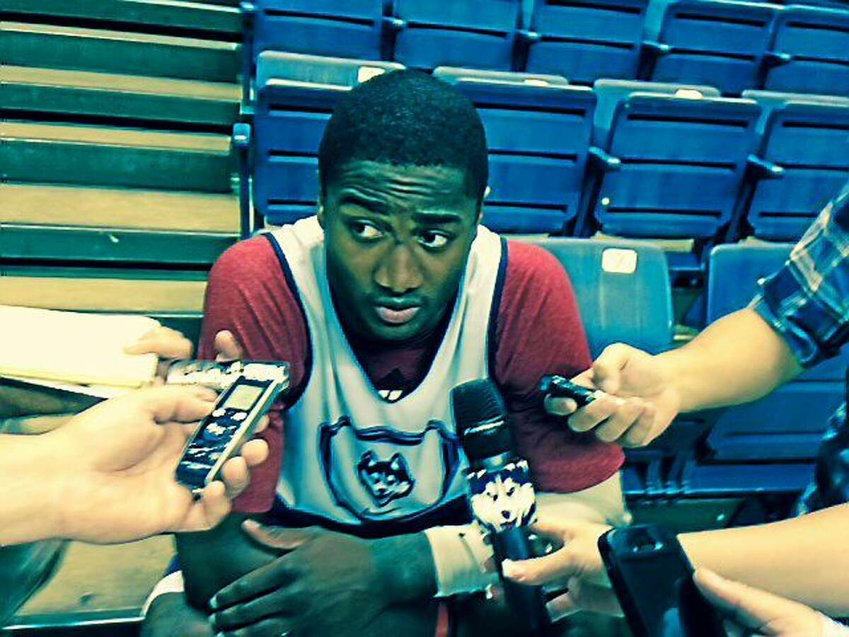 UConn's Rodney Purvis, a transfer from N.C. State, went through his first official practice as an elgible Husky on Saturday morning in Storrs.
