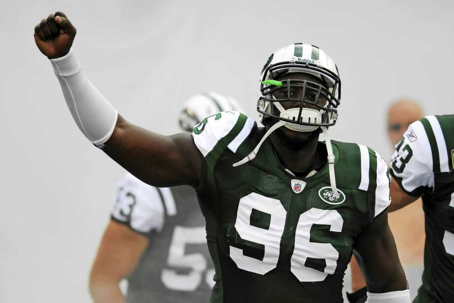 New York Jets defensive end Muhammad Wilkerson reported to the team's mandatory minicamp. Photo: The Associated Press File Photo  / AP2011