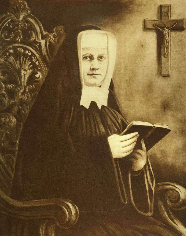 In this undated official photo provided by the Sisters of Charity of Saint Elizabeth, Sister Miriam Teresa Demjanovich is shown. On Saturday, Oct. 4, 2014, the New Jersey nun is scheduled to be beatified in a ceremony led by Cardinal Angelo Amato at the Cathedral Basilica of the Sacred Heart in Newark, N.J. According to the Archdiocese of Newark, Demjanovich, who died in 1927 at age 26, is credited with curing a boy's macular degeneration in the 1960s. Within six weeks of him praying to her, the effects of the disease were totally reversed, according to Sister Mary Canavan, vice postulator for the Sister Miriam Teresa League of Prayer in Convent Station.  (AP Photo/Sisters of Charity of Saint Elizabeth) Photo: AP / Sisters of Charity of Saint Elizabeth