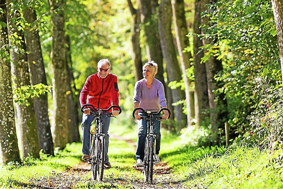 Courtesy photo Connecticut Office of Travel and Tourism introduces the bed and breakfast / bicycling trail. Photo: Journal Register Co.