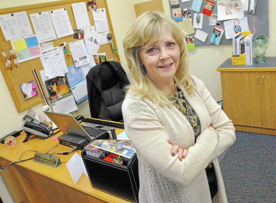 Paula Talty, Ph.D., is Cromwell's superintendent of schools. Photo: Catherine Avalone - The Middletown Press