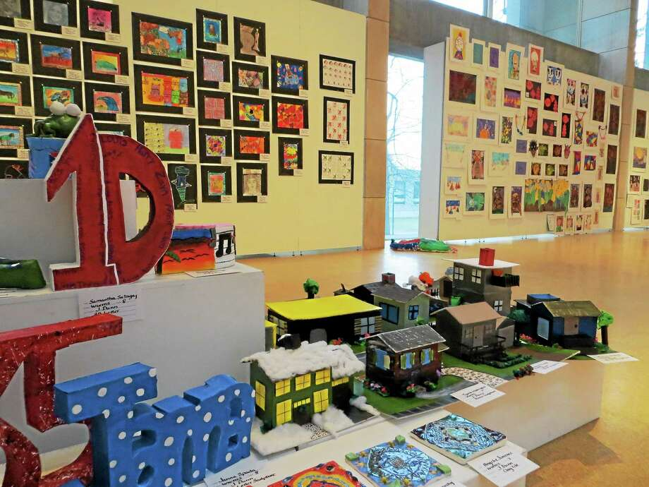 Last year's gallery event brought over 1,000 people to see the students' artwork that includes Middletown students from every grade. Photo: Submitted Photo