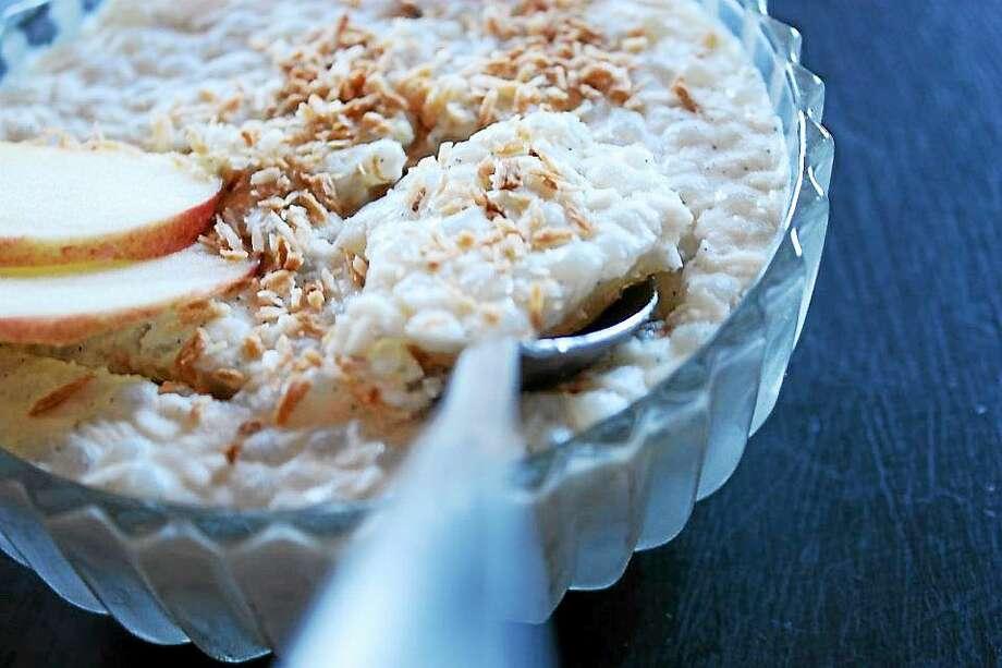 I.O.N. Restaurant of Middletown has a vegan version of tapioca pudding. Photo: Courtesy I.O.N. Restaurant