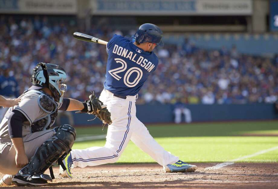 Toronto Blue Jays third baseman Josh Donaldson should be the American League MVP according to the Register's David Borges. Photo: The Associated Press  / The Canadian Press