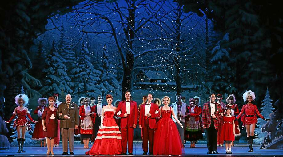 "Contributed photos The Palace Theater's new season includes ""White Christmas"" by Irving Berlin. Photo: Journal Register Co."