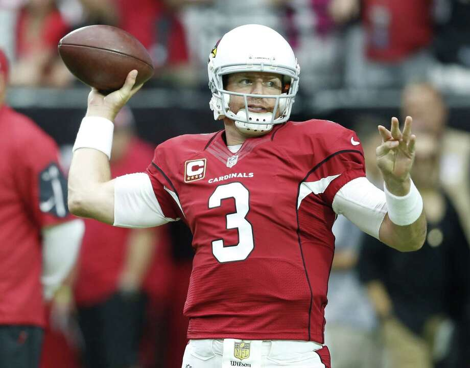 Arizona Cardinals quarterback Carson Palmer. Photo: Rick Scuteri — The Associated Press  / Jacka Dempsey