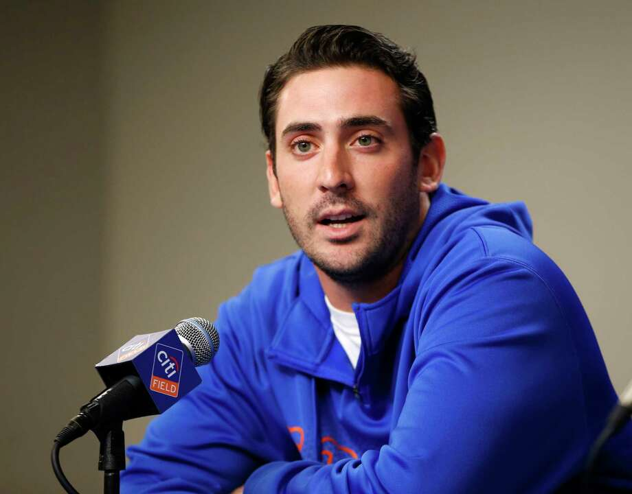 New York Mets pitcher Matt Harvey has been cleared to play catch following Tommy John surgery in October. Photo: Kathy Willens — The Associated Press  / AP