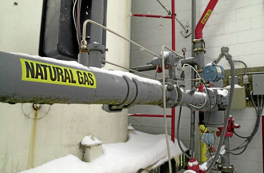 FILE - In this Jan. 25, 2001 file photo, a gas supply line is seen in St. Albans, Vt. New England's love affair with natural gas appears to be showing strain as the regional power grid operator voices worries about too much demand on limited supplies and a leading environmental group criticizes the fuel it once supported. In 2000, about 15 percent of New England's electricity was produced at generating stations that burned natural gas. According to power grid manager ISO-New England, that number had grown to 52 percent by 2012. Photo: AP / AP