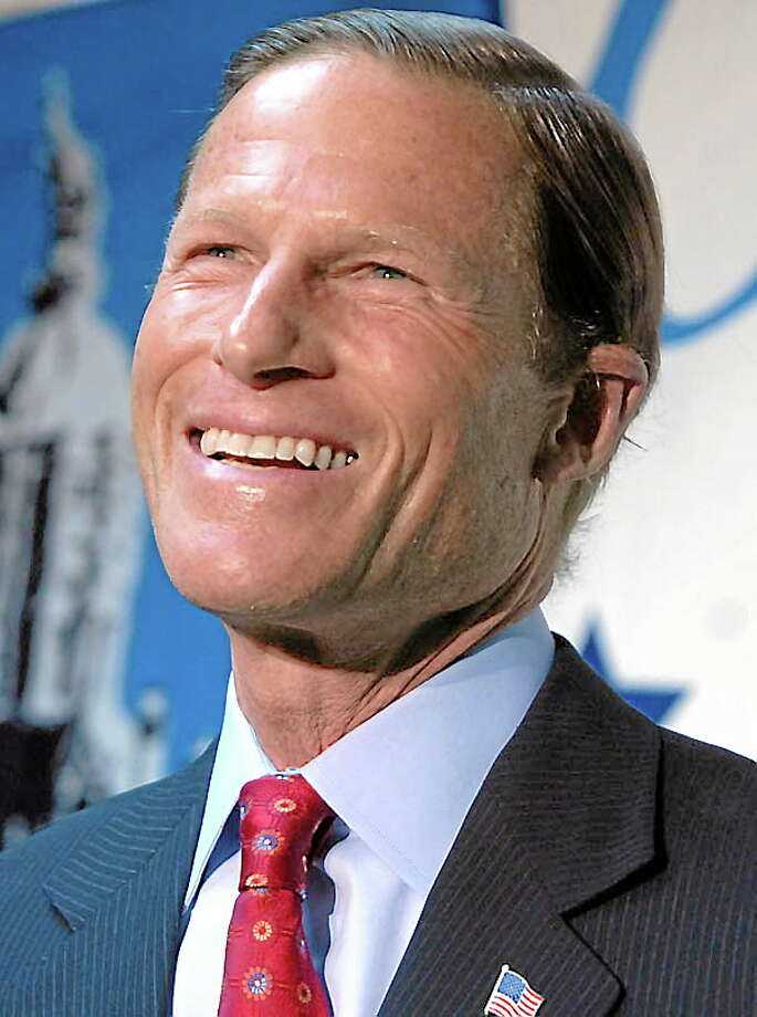 File photo: Sen. Richard Blumenthal Photo: Photo By Mara Lavitt/New Haven Register