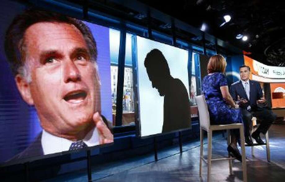 "TODAY -- Pictured: Mitt Romney appears on NBC News' ""Today"" show -- (Photo by: Peter Kramer/NBC/NBC NewsWire via Getty Images) Photo: NBCU Photo Bank Via Getty Images / 2014 NBCUniversal Media, LLC."