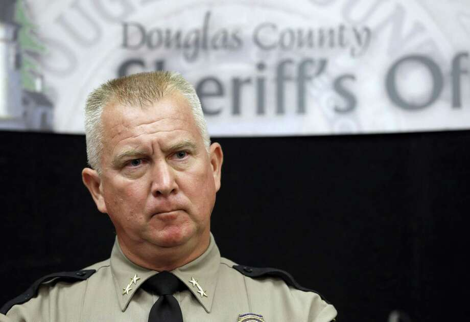 Douglas County Sheriff John Hanlin listens to a reporters question during a news conference Friday, in Roseburg, Ore., concerning the deadly shooting at Umpqua Community College. Photo: AP Photo/Rich Pedroncelli  / AP