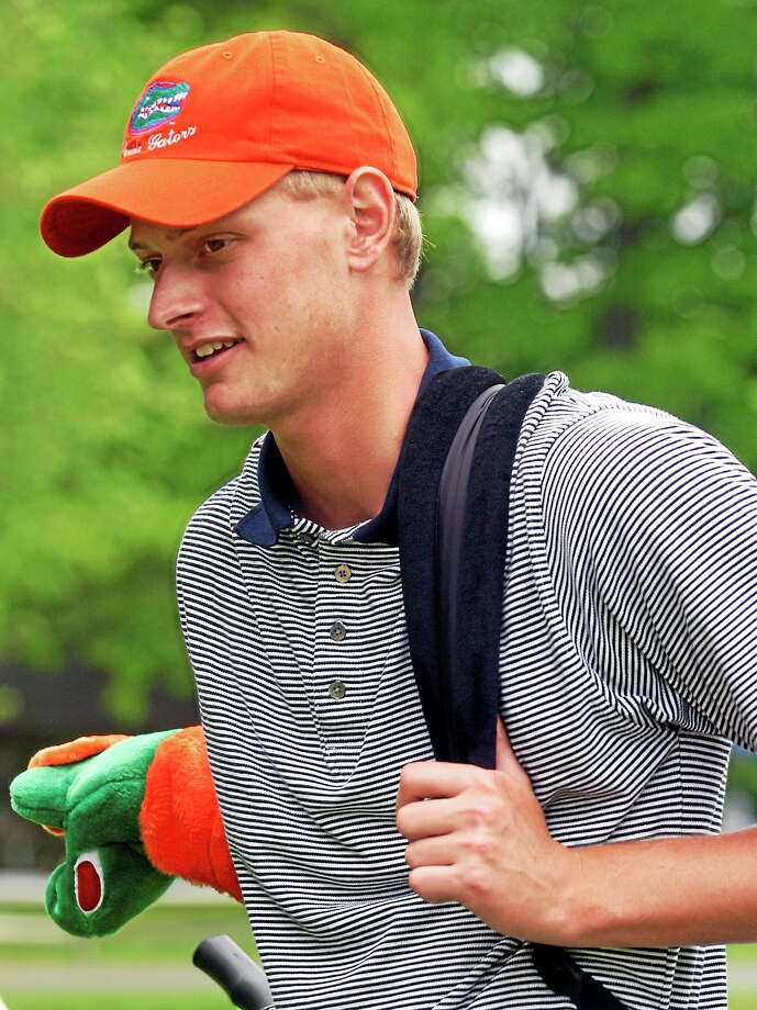 Madison native Brett Stegmaier, here during his sophomore year at the University of Florida in 2004, has qualified for the U.S. Open for the first time. Photo: The Associated Press File Photo  / AP