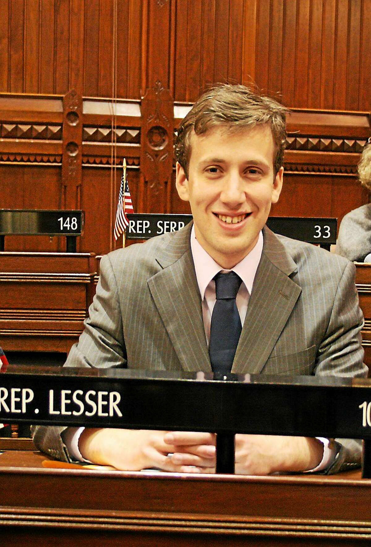 State Rep. Matthew Lesser of Middletown