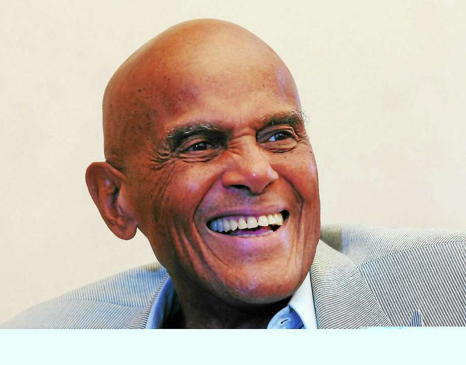 "Singer, actor, civil rights activist Harry Belafonte spoke about his dyslexia to reporters before an appearance at a Yale symposium on ""Multicultural Dyslexia Awareness Initiative"" at Linsly-Chittenden Hall on August 5, 2013. Photo: Mara Lavitt—Register"