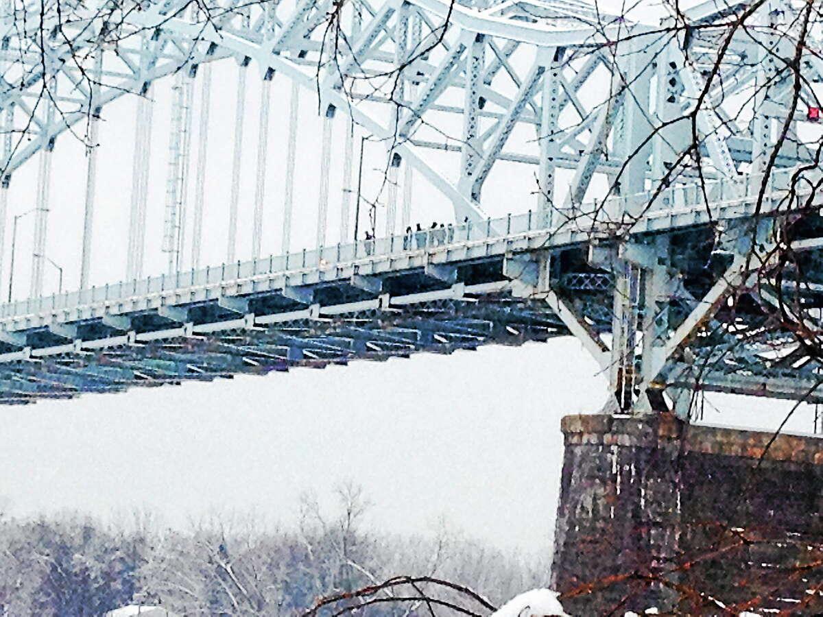 Officials are investigating on the Arrigoni Bridge.