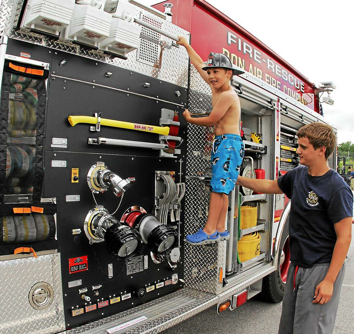File photo Cromwell's Touch a Truck is Friday.
