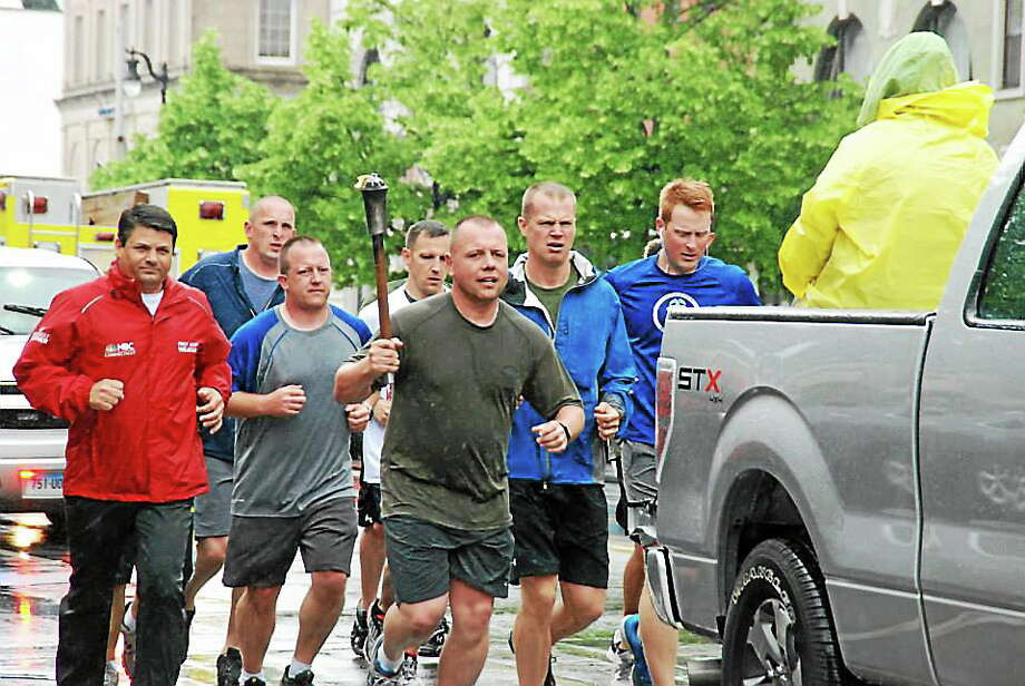 Submitted photo Connecticut Special Olympics held its law enforcement torch run June 4-6. Photo: Journal Register Co.