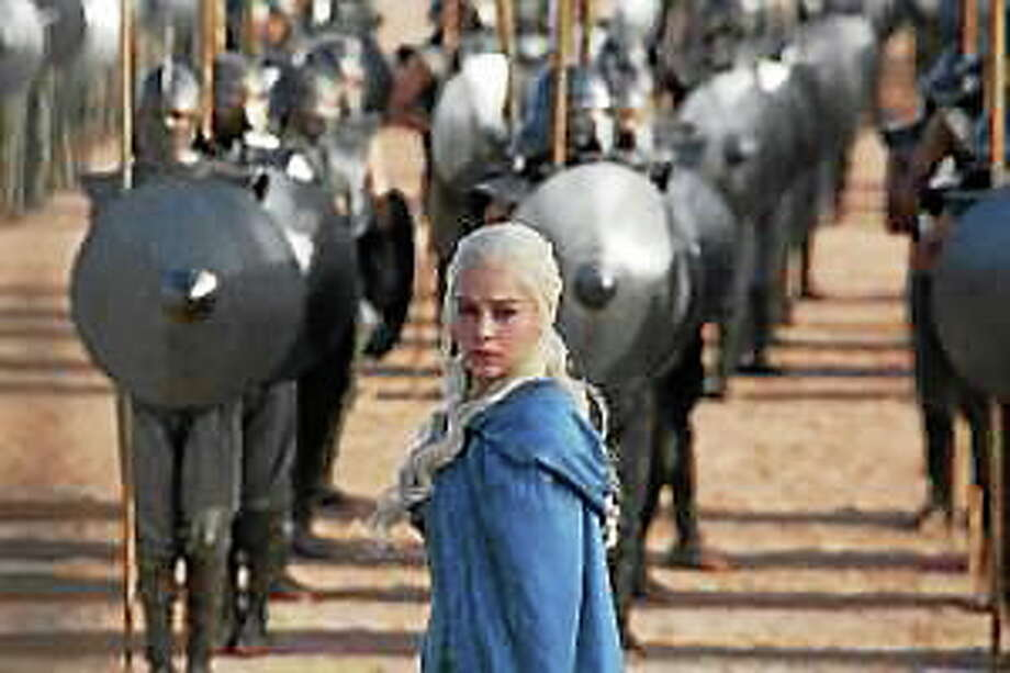 "Emilia Clarke stars as Daenerys Targeryen in ""Game of Thrones."" Photo: (HBO)"