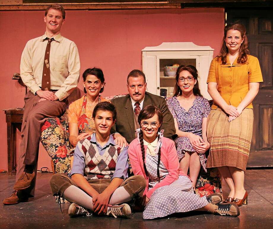 Photo by Paul Roth The cast of ìBrighton Beach Memoirsî takes the stage at Seven Angels in Waterbury with performances until Oct. 19. Photo: Journal Register Co.