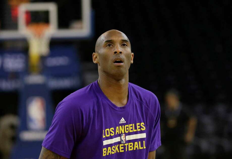 The Lakers' Kobe Bryant says he has decided to retire after this season. Photo: The Associated Press  / AP