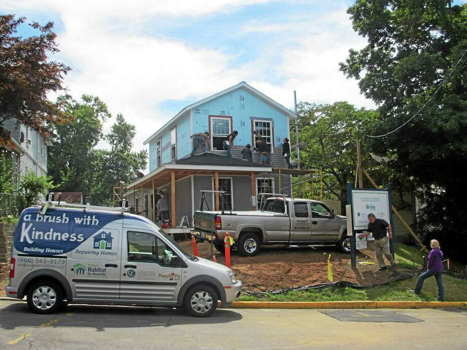 Middlesex Habitat for Humanity house at 201 Liberty Street in Middletown. Photo: Courtesy Photo