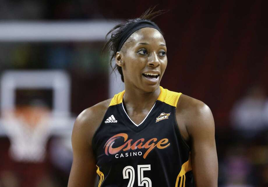 Tulsa Shock forward Glory Johnson-Griner is pregnant and will miss the WNBA season. Photo: Elaine Thompson — The Associated Press File Photo  / AP