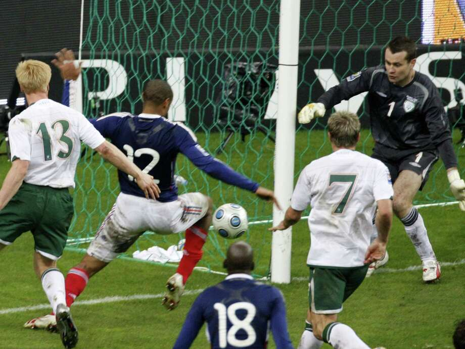 FIFA has admitted to giving Ireland $5 million in compensation for missing out on a place at the 2010 World Cup after Thierry Henry's handball set up the French winner. The payment — initially a loan — was not disclosed in the wake of the 2009 playoff game, which France won 2-1 on aggregate to reach the finals in South Africa. Photo: Michel Euler — The Associated Press File Photo  / AP