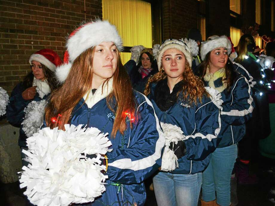 Middletown's 29th Annual Holiday on Main Street featured three tree lightings, a holiday parade led by Mayor Dan Drew and Santa Claus, and many other events and activities. Photo: Cassandra Day — The Middletown Press