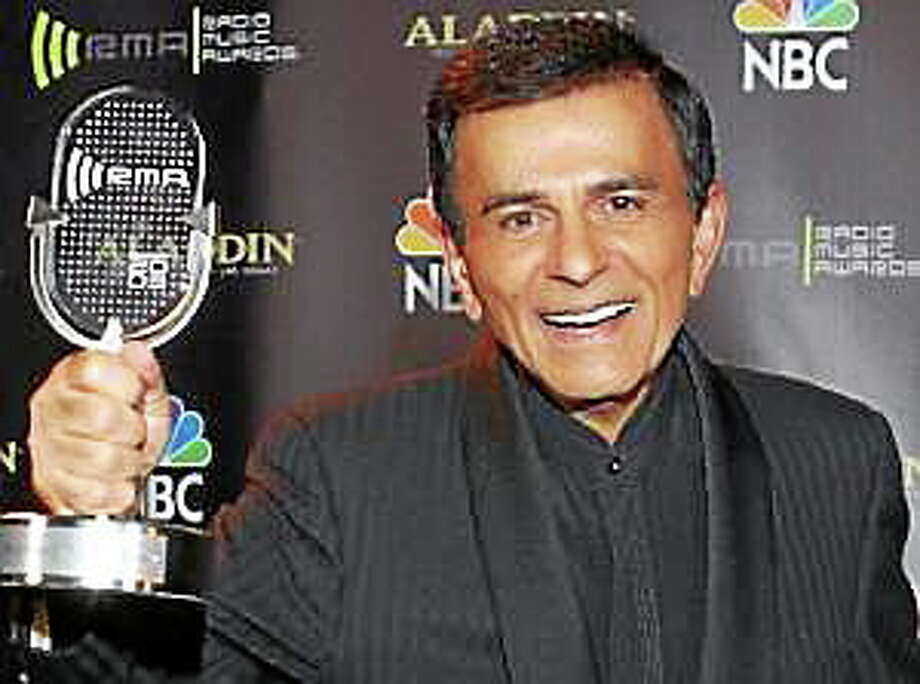 In this Oct. 27, 2003, file photo, Casey Kasem poses for photographers after receiving the Radio Icon award during The 2003 Radio Music Awards in Las Vegas. Photo: (Eric Jamison — The Associated Press)