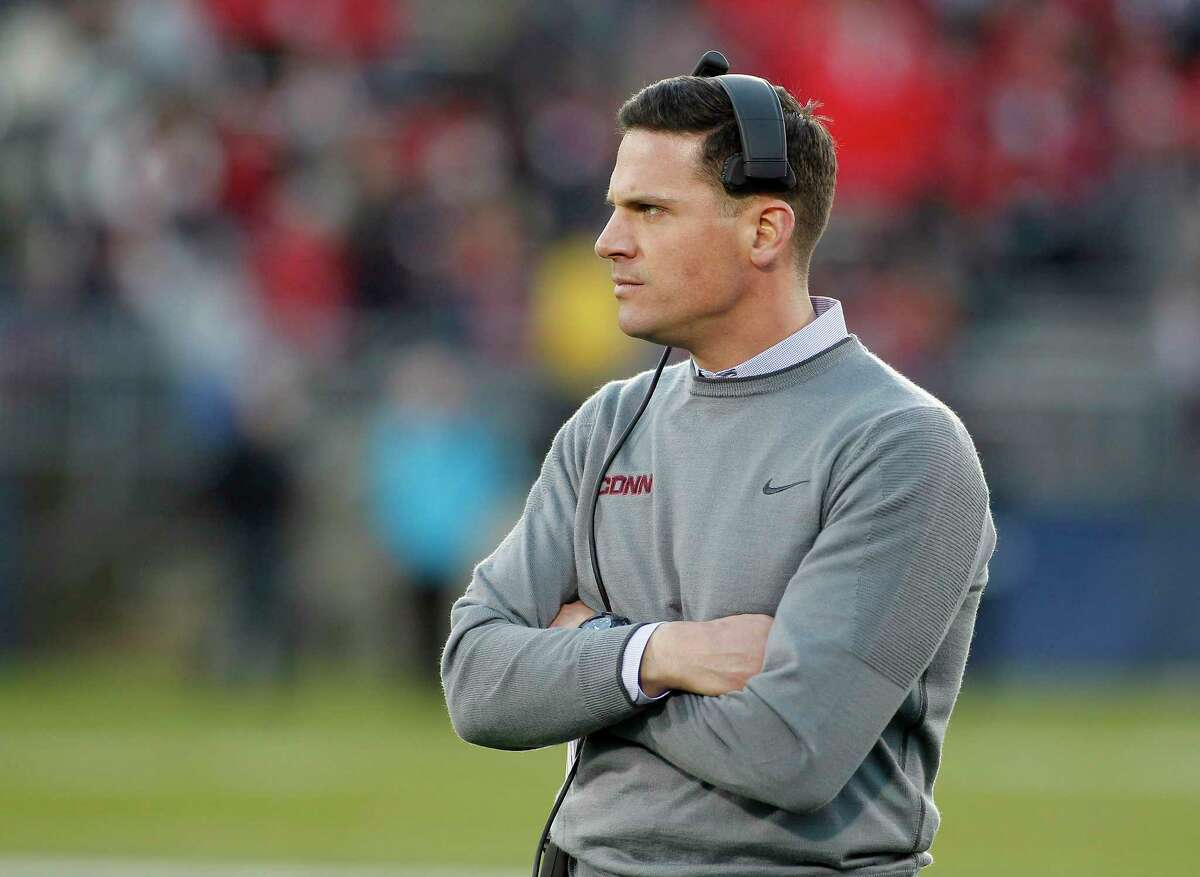 Bob Diaco and UConn will take on Temple.
