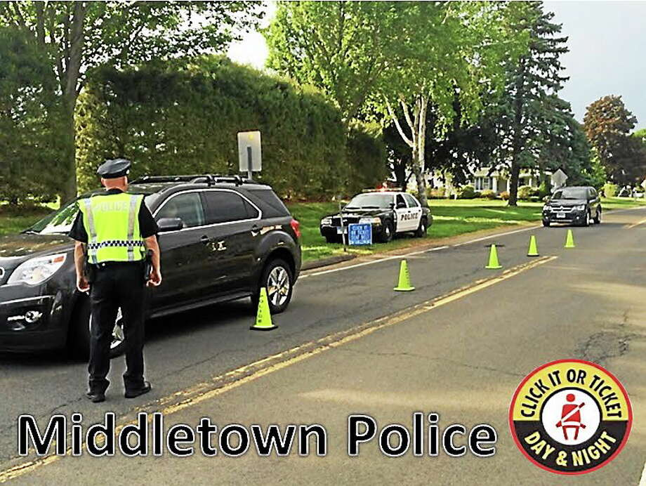 Submitted photo Middletown Police Photo: Journal Register Co.