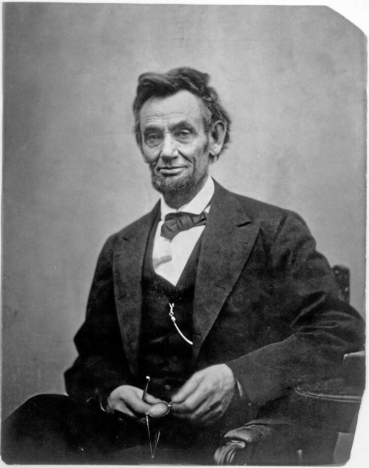 This photograph of Lincoln by Alexander Gardner was taken on Feb. 5, 1865. The president's haggard, careworn appearance shows the toll wrought by four years of war. Photo: COURTESY BEINECKE RARE BOOK & MANUSCRIPT LIBRARY