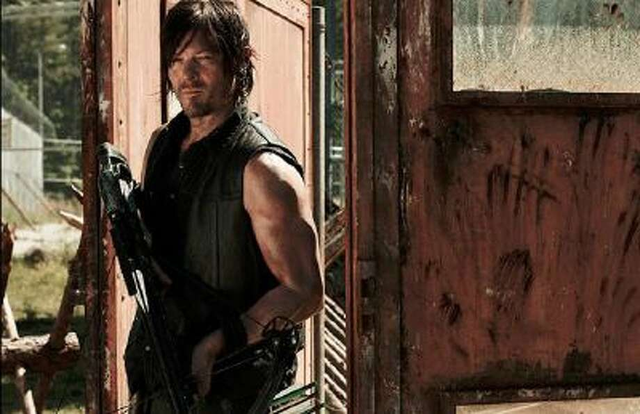 "Norman Reedus as Daryl Dixon on ""The Walking Dead."""