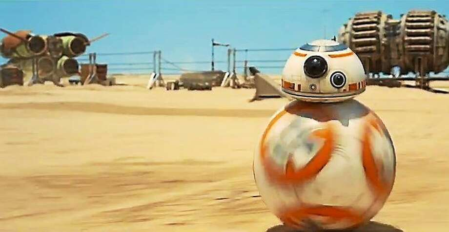 "The first teaser trailer for Star Wars: Episode VII — The Force Awakens was released today. <a href=""http://youtu.be/OMOVFvcNfvE"">Watch it here.</a> Photo: Journal Register Co."