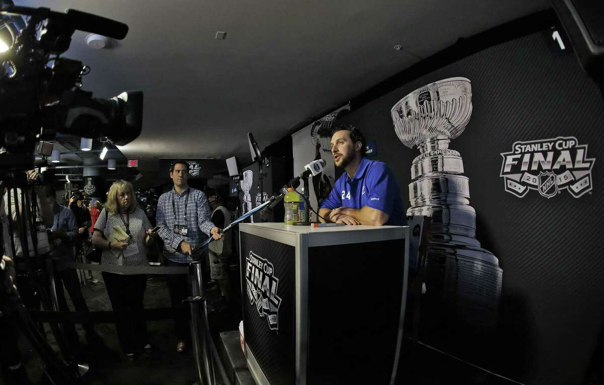 Ryan Callahan and the Tampa Bay Lightning will take on the Chicago Blackhawks in the Stanley Cup Finals.