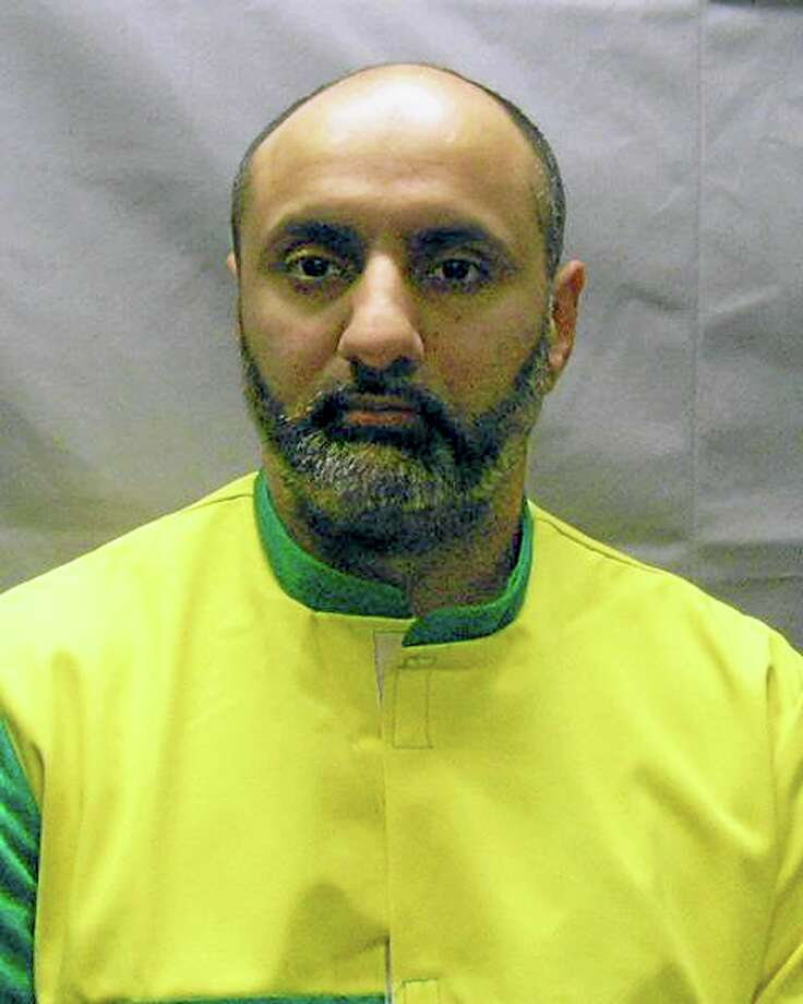 This Nov. 9, 2012 photo provided by the U.S. Attorney's Office shows Babar Ahmad, extradited in October 2012 with Syed Talha Ahsan to the United States from Britain on charges they supported terrorists in Afghanistan and Chechnya by operating websites to raise cash, recruit fighters and solicit items such as gas masks. Photo: Contributed Photo — U.S. Attorney's Office  / U.S. Attorney's Office